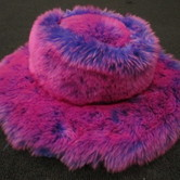 Furry dress up hat hire