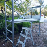 FOLDING MOBILIE SCAFFOLD hire
