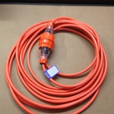 10amp lead, 10m Outdoor hire