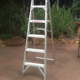 Ladder 1.8m/6ft Aluminium hire