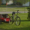 Bicycle trailer max. 15kg hire