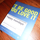 Book: Happy Mondays hire