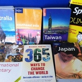 Travel books hire