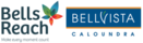 Tiny bells reach bellvista logo