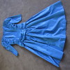 1980's dress taffeta hire