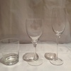 champagne & wine glasses hire