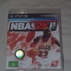 NBA 2K11 PS3 hire