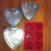 Heart shaped Cake Tins hire