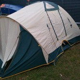 3 person dome tent hire