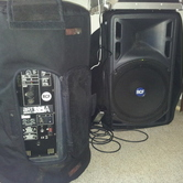 1 RCF Powered Speaker hire