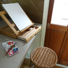 Tabletop box easel hire