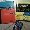 Learn French books hire