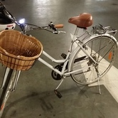 Ladies retro city bike  hire