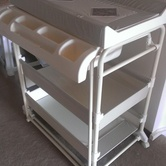 Clean sturdy baby changer hire