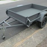 6x4 Box Trailer hire