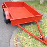 4x6 Box Trailer hire