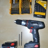 Cordless Drill with Bits hire