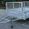 Caged Box Trailer 8x5 hire