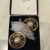 Chanel Circle Earrings hire