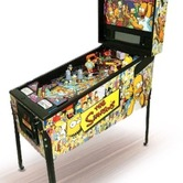 Simpsons Pinball Party hire