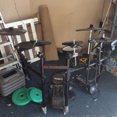 Roland digital drumkit hire