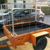 6x4 caged box trailer hire