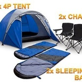 4 man tent - camping kit hire