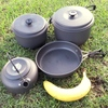 Camping pots + frying pan hire