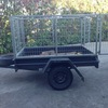 Trailer 6x4 with cage hire