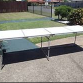4 fold table hire