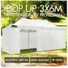 3x6m Pop Up Gazebo White hire