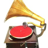 HMV wind up Gramophone hire