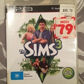 PS3 The Sims 3 Game hire