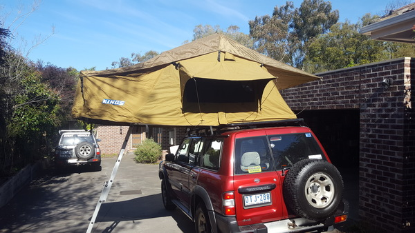 & Rooftop tent hire in Melbourne (Mitcham) - $25/day