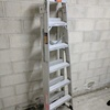 Double sided step ladder hire