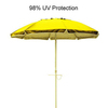 Beach Umbrella Yellow hire