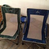 2 low beach chairs hire