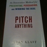 Book: Pitch Anything hire